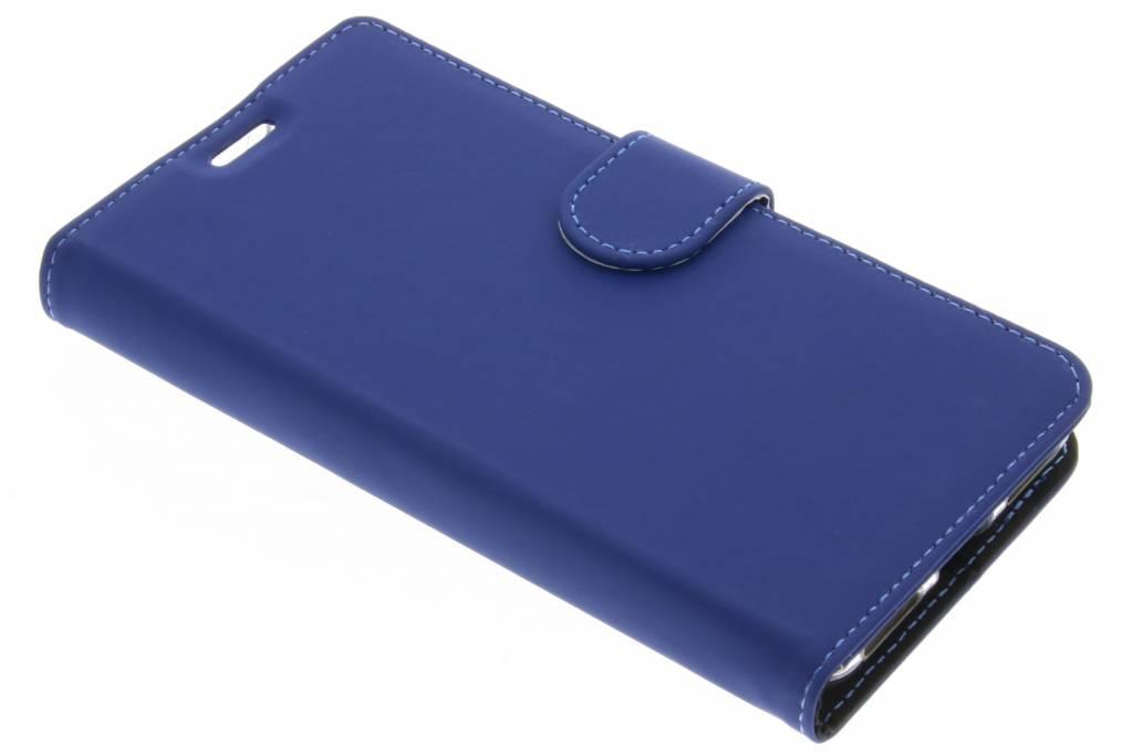 Accezz Blauwe Wallet TPU Booklet voor de Sony Xperia L1