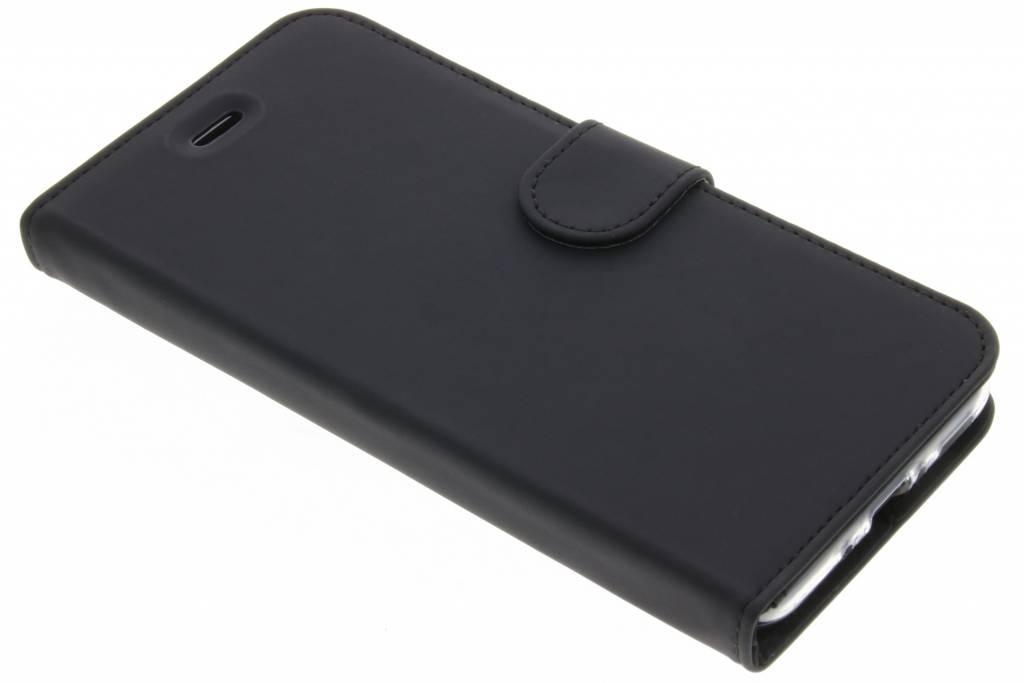 Accezz Zwarte Wallet TPU Booklet voor de HTC U11