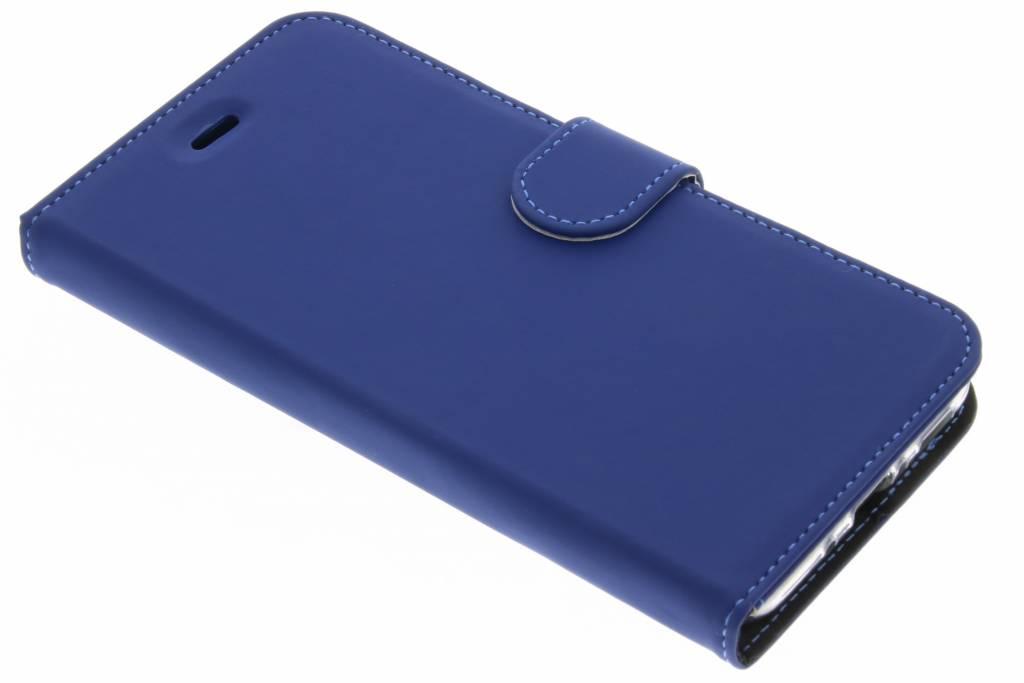 Accezz Blauwe Wallet TPU Booklet voor de HTC U11