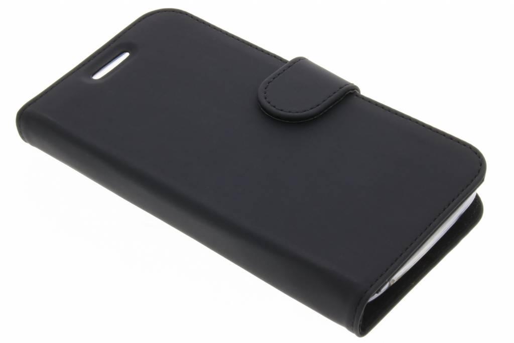 Accezz Zwarte Wallet TPU Booklet voor de Motorola Moto C Plus