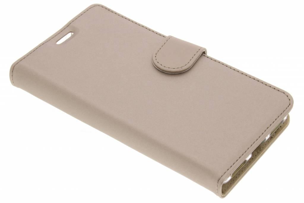 Accezz Gouden Wallet TPU Booklet voor de BlackBerry KeyOne