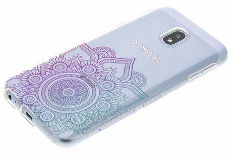 Conception Multicolore Mandala Cas De Tpu Pour Huawei Y 6 (2017) gw84O6cfYP
