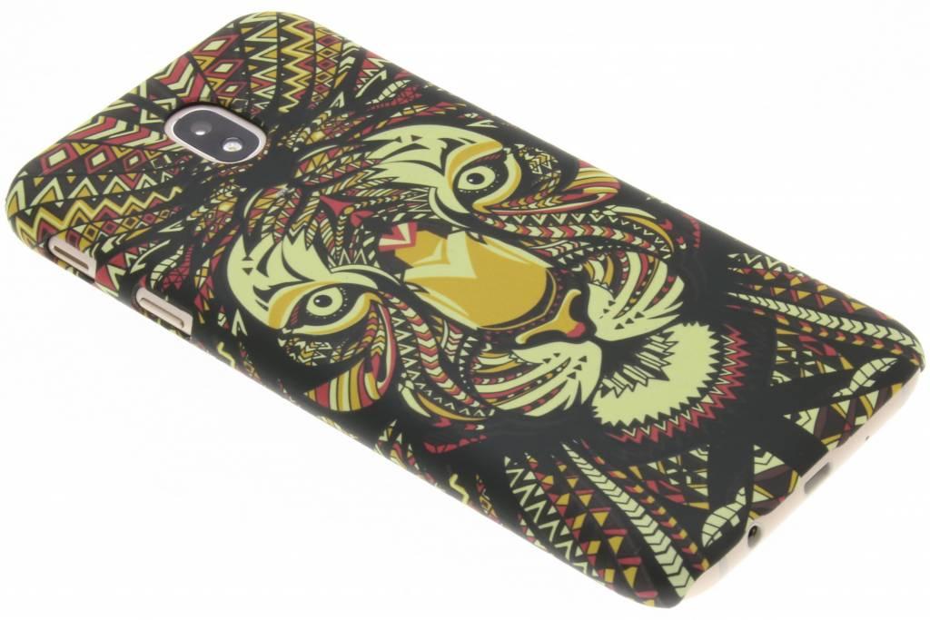 Tijger aztec animal design hardcase hoesje voor de Samsung Galaxy J7 (2017)