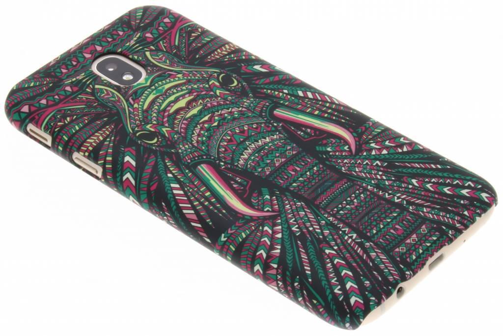 Olifant aztec animal design hardcase hoesje voor de Samsung Galaxy J7 (2017)