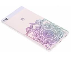 Mandala design TPU hoesje Huawei P8