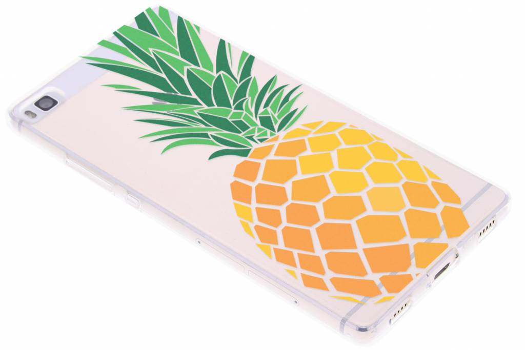Transparant ananas design TPU hoesje voor de Huawei P8