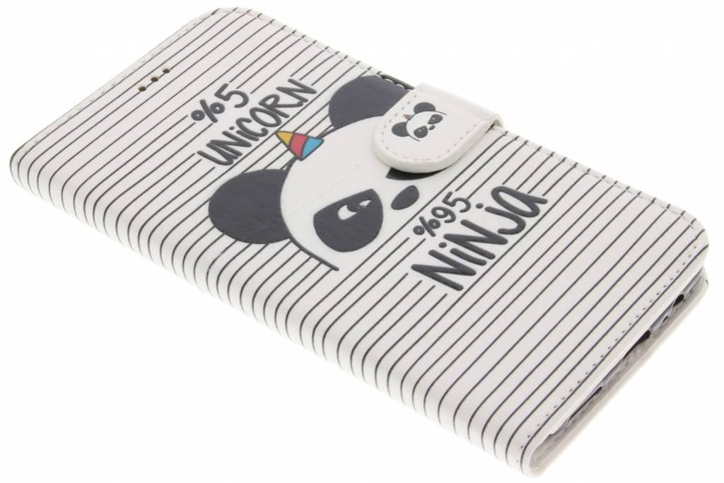 Unicorn ninja design TPU booktype hoes voor de OnePlus 5