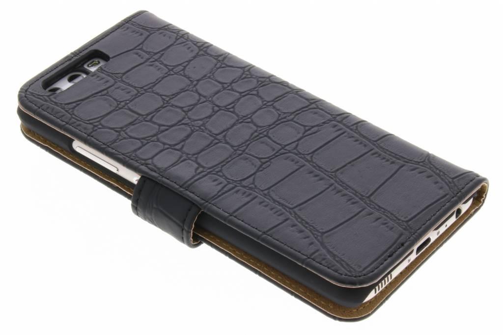 Crocodile Noir Couverture Du Livre Pour P10 De Type Huawei MrZbO