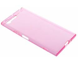 Transparant gel case Sony Xperia XZ Premium