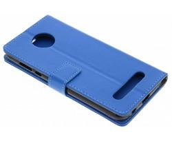 Blauw TPU Bookcase Motorola Moto Z2 Play