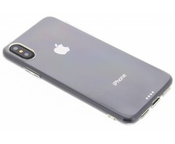 Ultra thin transparant TPU hoesje iPhone X