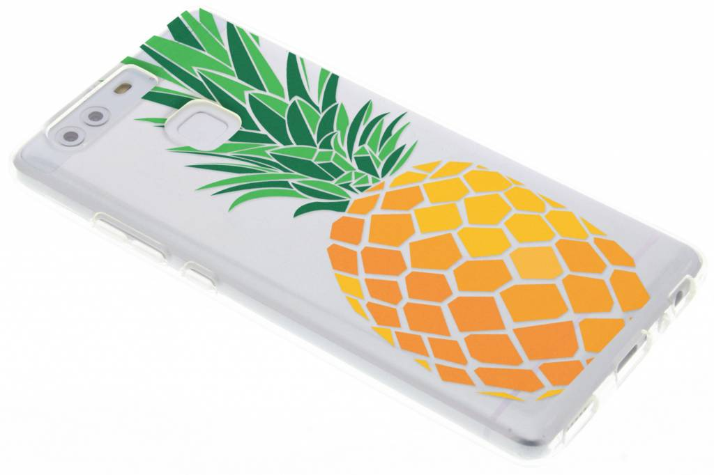 Transparant ananas design TPU hoesje voor de Huawei P9