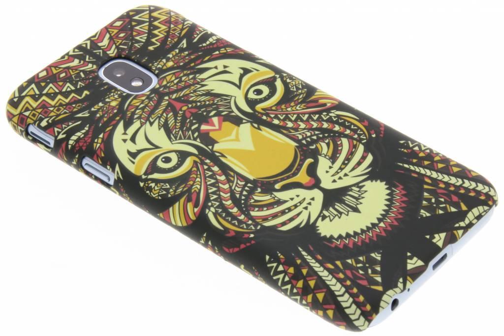 Tijger aztec animal design hardcase hoesje voor de Samsung Galaxy J3 (2017)