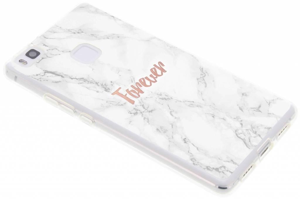 BFF White Marble Love TPU hoesje voor de Huawei P9 Lite