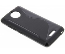 Zwart S-line TPU hoesje Motorola Moto C Plus