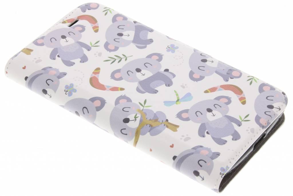 Koala Design TPU Booklet voor de Acer Liquid Zest (4G)