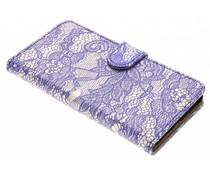 Blauw Glamour Design booktype Nokia 5