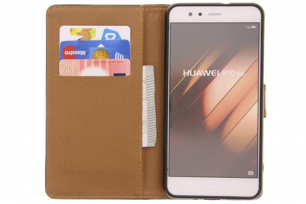 Green Business Booktype Tpu Case Pour Huawei P10 qVCXVm4