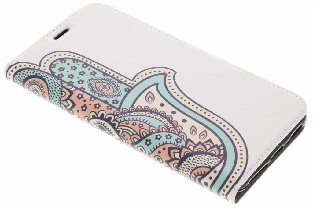 Pastel Design TPU Booklet voor de Acer Liquid Z6 Plus