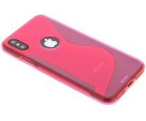 S-line TPU hoesje iPhone X