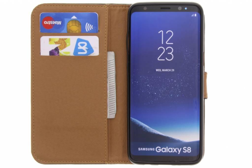 Green Business Booktype Tpu Case Pour Samsung Galaxy S8 J3FdhAfeOu