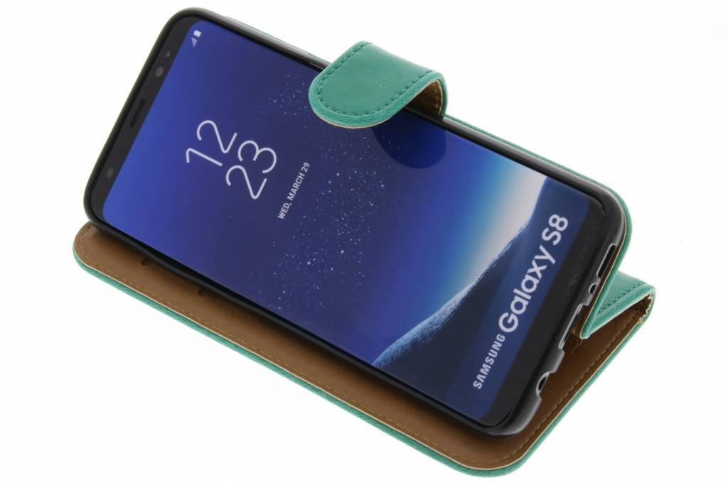 Green Business Booktype Tpu Case Pour Samsung Galaxy S8 NTd1rSkez