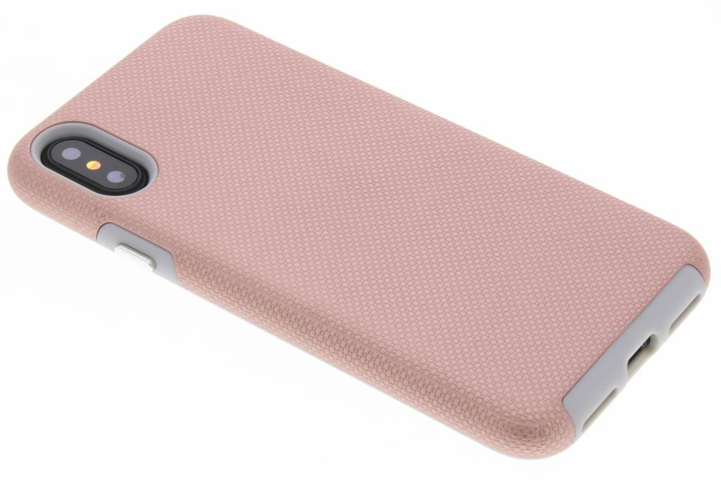 Accezz Rosé Gouden Xtreme Cover voor de iPhone Xs / X