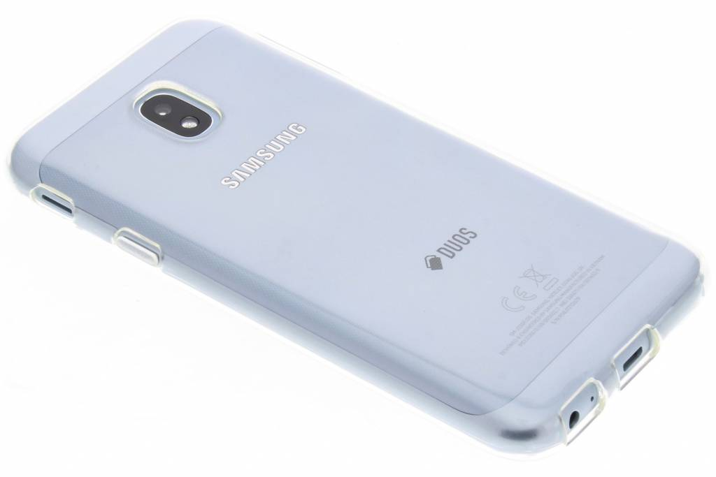 Accezz Transparante TPU Clear Cover voor de Samsung Galaxy J3 (2017)