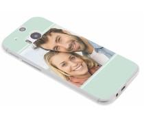 Ontwerp uw eigen HTC One M8 / M8s gel hoesje (bedrukt)