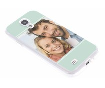 Ontwerp uw eigen Samsung Galaxy S4 gel hoesje (bedrukt)