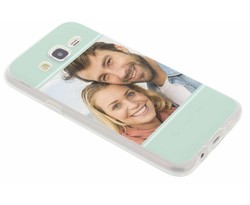 Ontwerp uw eigen Samsung Galaxy J5 gel hoesje (bedrukt)