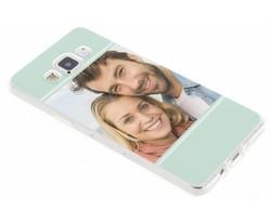 Ontwerp uw eigen Samsung Galaxy A5 gel hoesje (bedrukt)