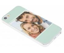 Ontwerp uw eigen iPhone 5 / 5s / SE gel hoesje (bedrukt)