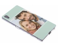 Ontwerp uw eigen Sony Xperia Z5 gel hoesje (bedrukt)