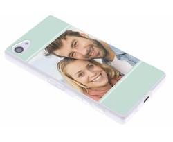 Ontwerp uw eigen Sony Xperia Z5 Compact gel hoesje (bedrukt)
