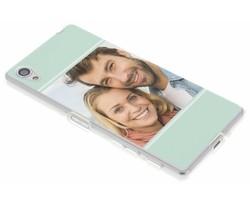 Ontwerp uw eigen Sony Xperia X gel hoesje (bedrukt)