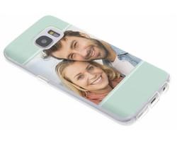 Ontwerp uw eigen Samsung Galaxy S7 gel hoesje (bedrukt)