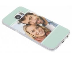 Ontwerp uw eigen Samsung Galaxy S7 Edge gel hoesje (bedrukt)