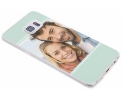Ontwerp uw eigen Samsung Galaxy S6 Edge Plus gel hoesje (bedrukt)