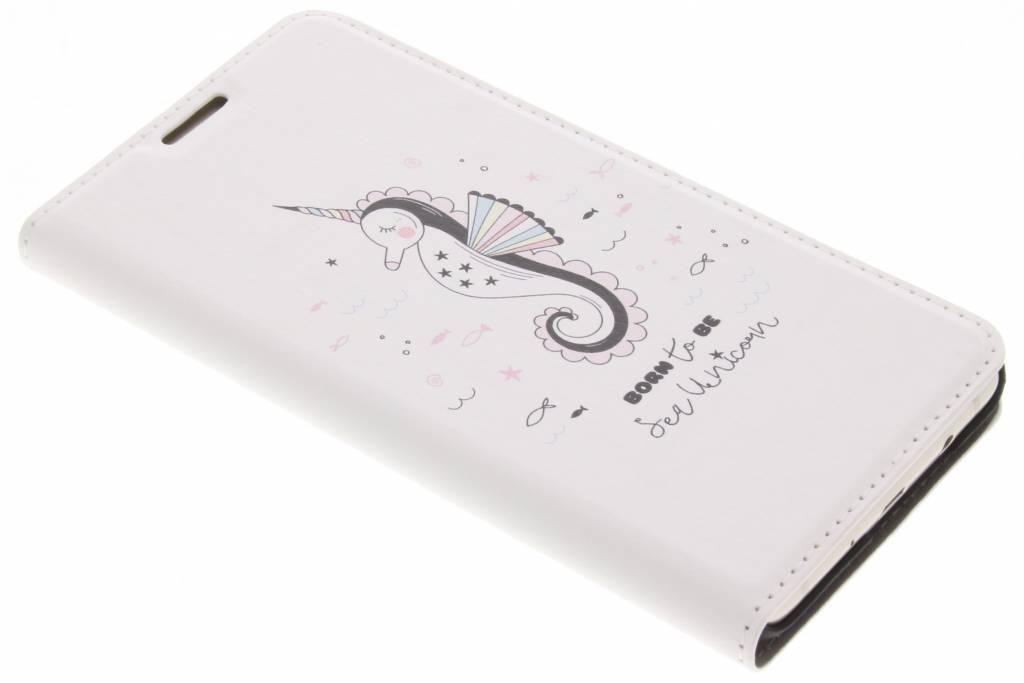 Sea Unicorn Design Booklet voor de Samsung Galaxy J5 (2016)