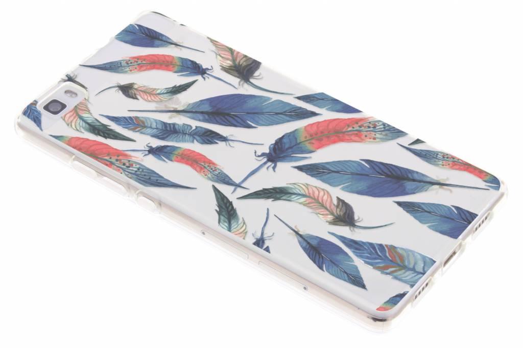 Ibiza feather case voor de Huawei P8 Lite