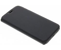 Zwart Effen Booklet iPhone X