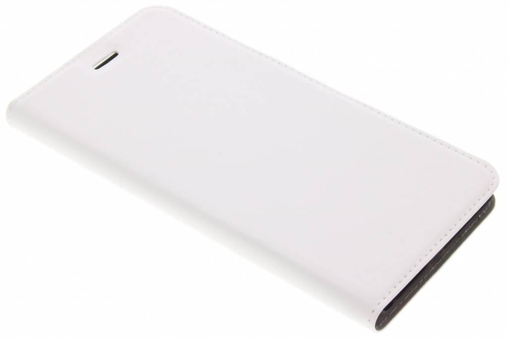 Witte Effen Booklet voor de Asus Zenfone 3 Zoom / Zoom S