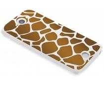Dierenprint design Giraffe TPU hoesje Acer Liquid Z530