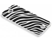Dierenprint design Zebra TPU hoesje Acer Liquid Z530
