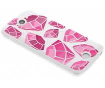 Diamonds design TPU hoesje Acer Liquid Z530