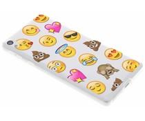 Emoji design TPU hoesje Sony Xperia E5
