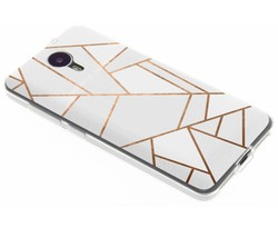 Design TPU hoesje General Mobile 4G / GM5