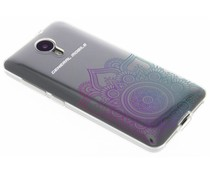 Mandala design TPU hoesje General Mobile 4G / GM5