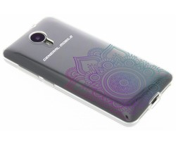 Mandala design TPU hoesje General Mobile 4G / GM5
